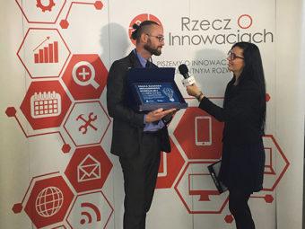 Polska Nagroda Inteligentnego Rozwoju 2016 dla spółki FIAB Sp. z o.o. Sp.k.