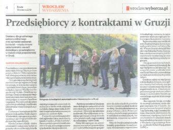FIAB z wizytą gospodarczą w Gruzji