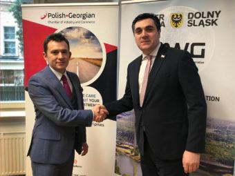 FIAB loading East, Polish-Georgian economic forum