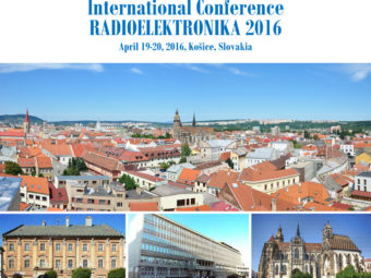 26th International Conference Radioelektronika 2016 – Kosice / Slovakia