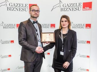 Prestigious title for FIAB – Gazela Biznesu