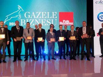 Prestiżowy tytuł Gazeli Biznesu dla FIAB