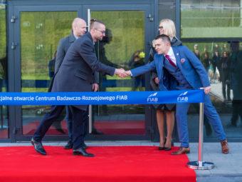 Feierliche Eröffnung des Forschungs- und Entwicklungszentrums der FIAB