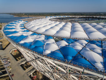 Volgograd Arena – Stadium built with FIAB machines