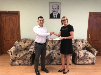 First contract for Belarusian market