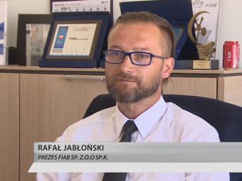 FIAB im TVN24 Fernseher
