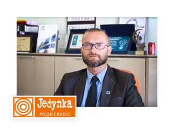An interview for Polskie Radio Jedynka – EUREKA broadcast