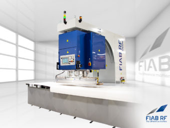 Every year a new size record. FIAB 2060W – The largest high frequency welder on the market