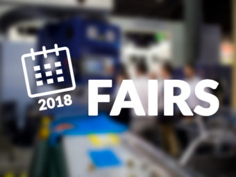 FAIRS, EVENTS and conferences through 2018